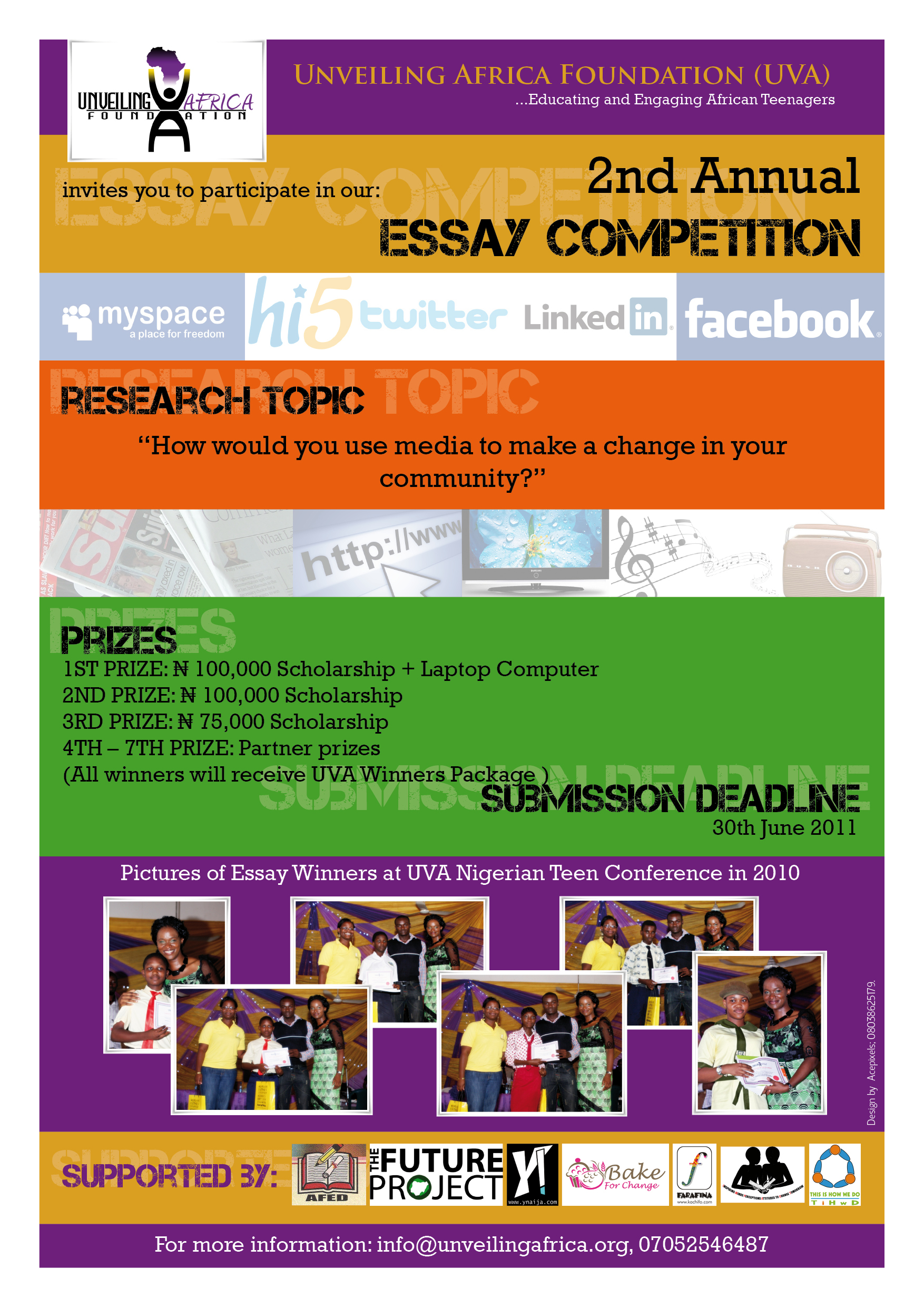 rba essay competition 2011